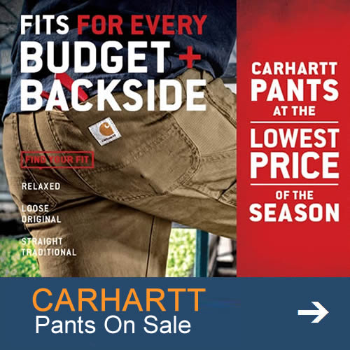 Carhartt Promotional Pants and Jeans
