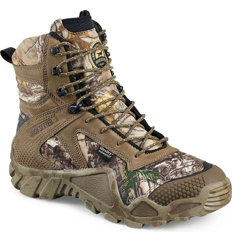 Irish Setter Men S 8in Ultradry Insulated Camo Hunting
