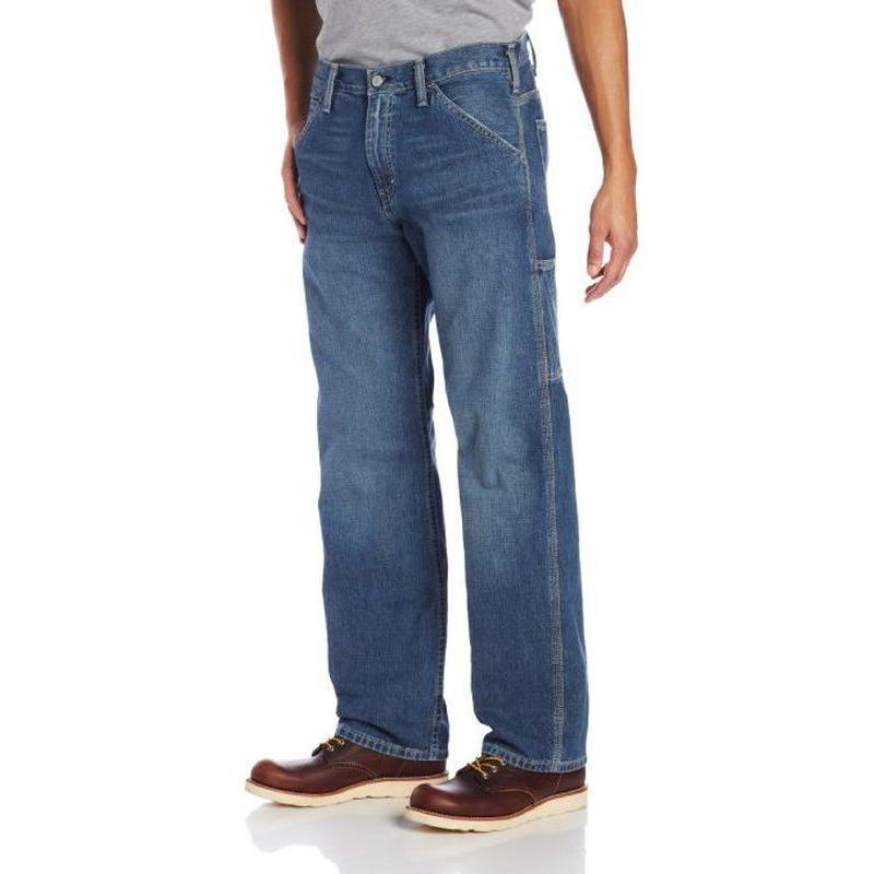 Mens Flannel Lined Jeans