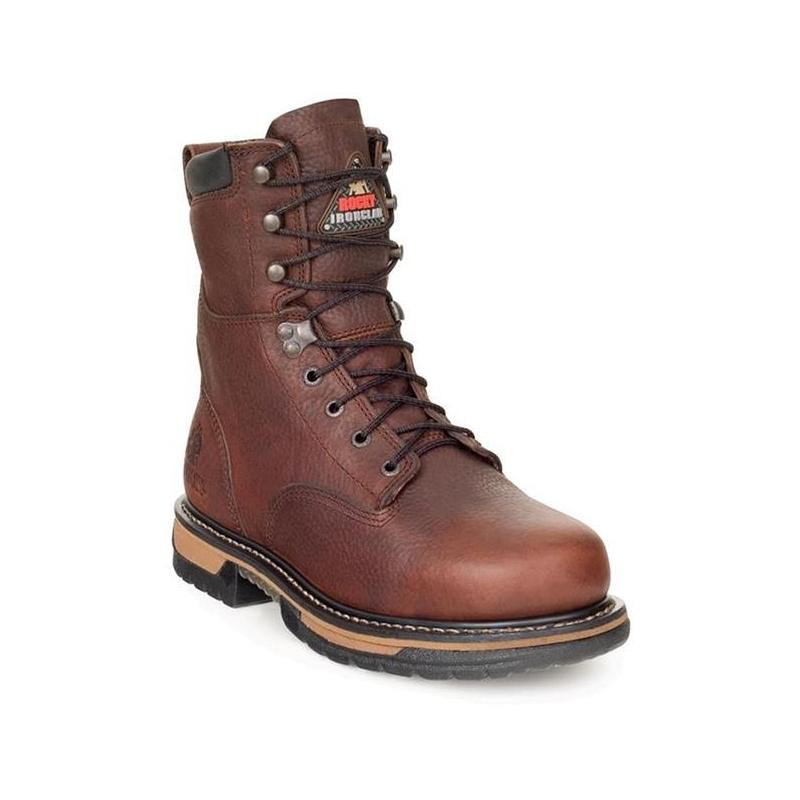rocky s 8in iron clad steel toe insulated work boots 6694