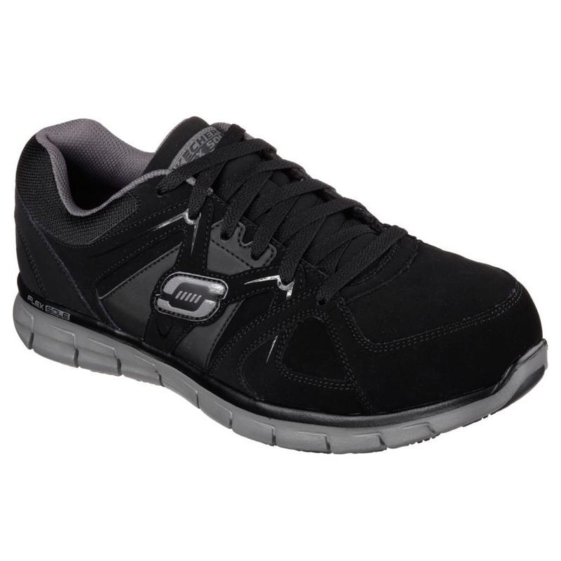 Skechers Men S Steel Toe Synergy Work Shoe 77068