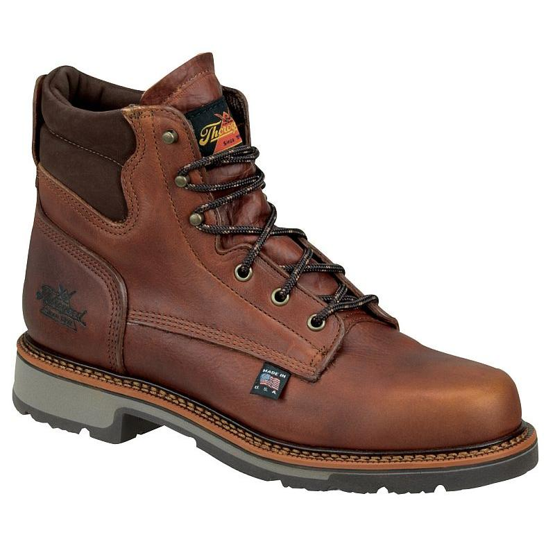 Thorogood Men S 6 In American Heritage Soft Toe Boots