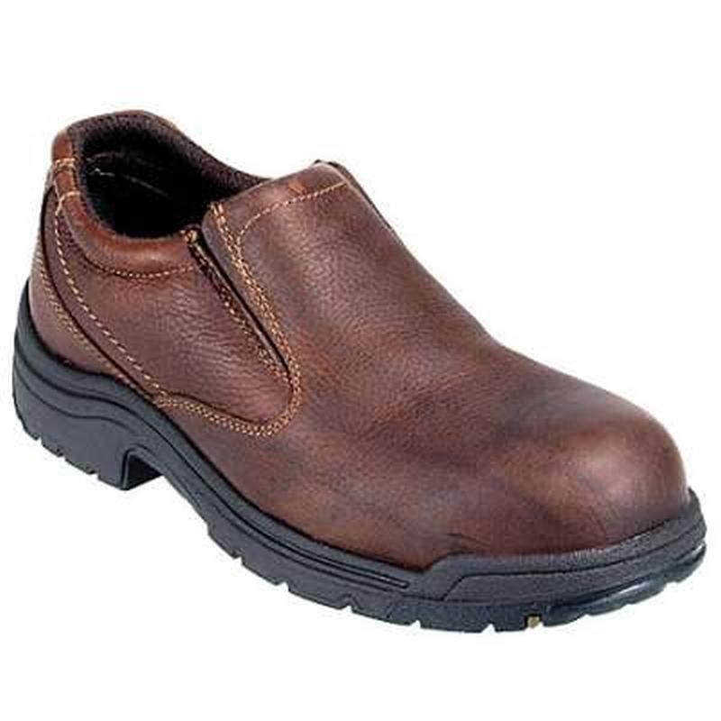 timberland s pro titan steel toe slip on work shoe 53534