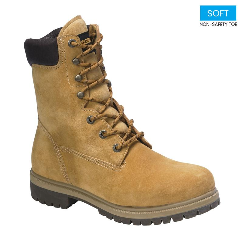 Wolverine Men S 8 In Waterproof Insulated Work Boots W01195