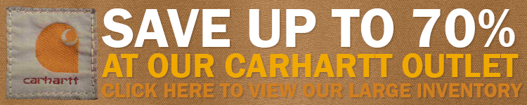 Carhartt Outlet - Closeouts and Irregulars